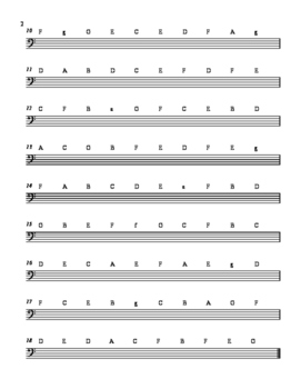 Bass Clef Mad Minute