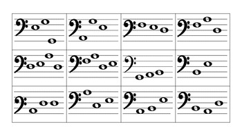 Bass Clef Musical Spelling Bee