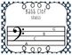 Bass Clef Note Names [FREEBIE]