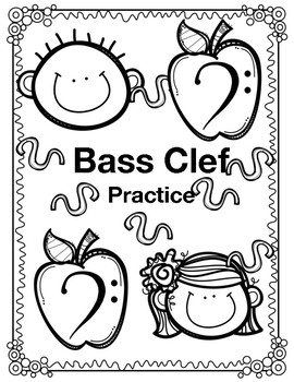 Bass Clef Note Practice
