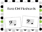 Bass Clef Pitch Flashcards