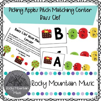Bass Clef Pitch Matching Center