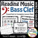 Bass Clef - Reading Music -PowerPoint Presentation &  Exit