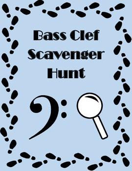 Bass Clef Scavenger Hunt