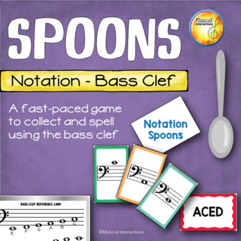 Bass Clef Spoons Game