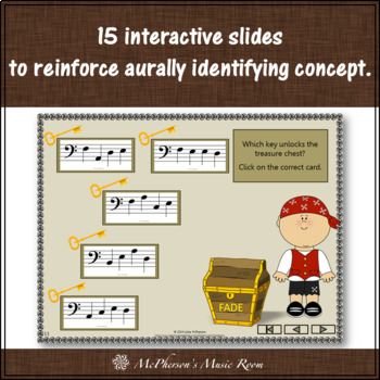 Bass Clef Treasures: Interactive Music Game & Assessment
