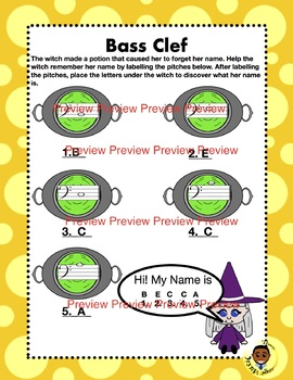 Bass Clef Witch