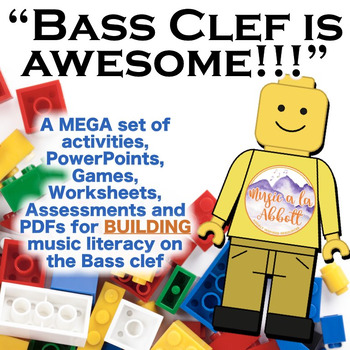 Bass Clef is Awesome: a MEGA Set of Building Activities fo