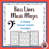 Music Games: Bass Lines Music Theory Maze Puzzles