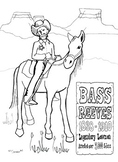 Bass Reeves Coloring Page