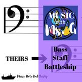 Bass Staff Music Battleship