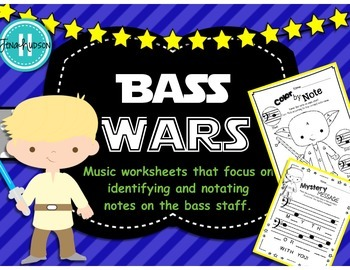 Bass Wars - Music Worksheets