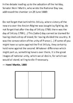 Bastille Day Handout
