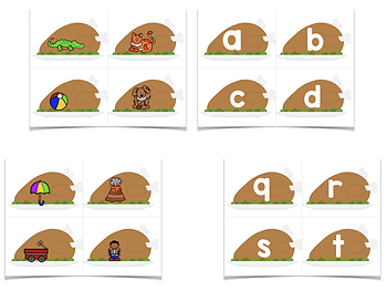 Basting Turkeys! A Letters & Beginning Sounds Creation