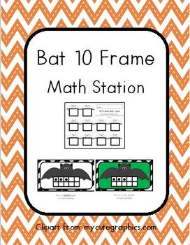 Bat 10 Frames Math Station