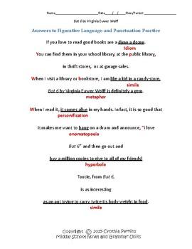 Bat 6 Complete Literature and Grammar Unit