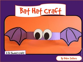 Bat: {A So Sweet Craft Bat Hat}