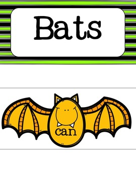 Bats! {Tree Map Activities}