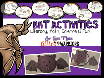 Bat Activities Book Craftivity