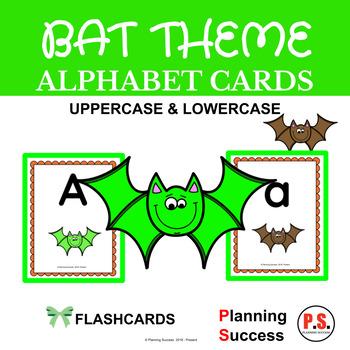 Bat Alphabet Cards: Bat ABC