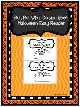 Bat, Bat What Do You See? Halloween Easy Reader