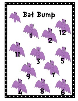 Bat Bump Addition Review Game