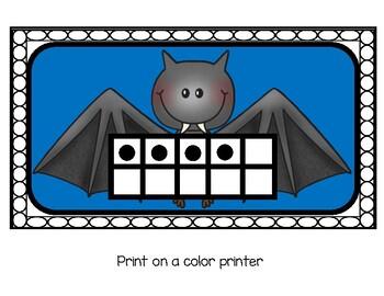10 Frame Bat Caves - Nocturnal Animals Unit