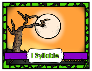Bat Center ~ Syllable Sort