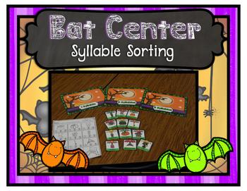 Bat Center ~ Syllable Sort