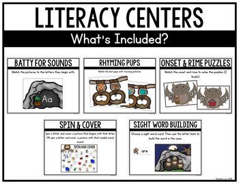 Bat Centers for Kindergarten
