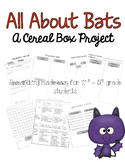 Researching Bats – A Cereal Box Project & Expository Writi