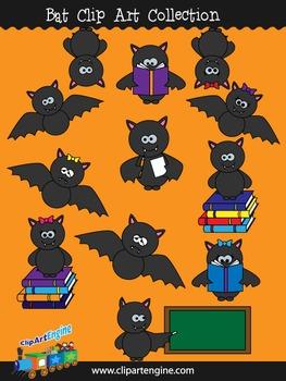 Bat Clip Art Collection
