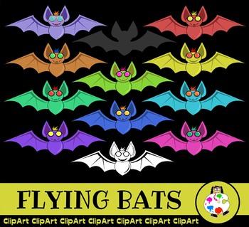 Bat ClipArt - Wild Animal Clips