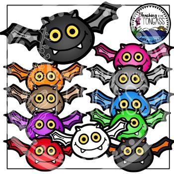 Bat Clipart (Halloween Clipart)