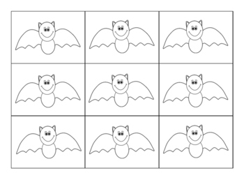 Bat Clipart for Graphing! FREE Halloween Clipart