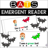 Bats Emergent Reader With Color Words
