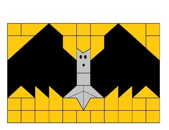 Bat Color Picture-  Noun sort by person, place, and things