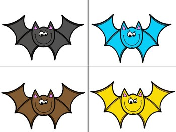 Bat Color Word Match