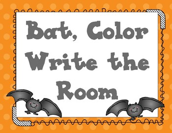 Bat Color Write the Room