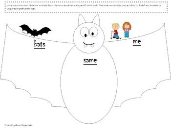 Bat Compare Contrast Smart Notebook