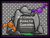 Bat Concept Books for Quantities (Speech Therapy Activities)