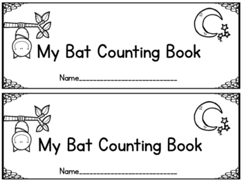 Bat Counting Book
