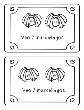 Bat Counting Book - SPANISH VERSION