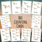Bat Counting Cards (1-10)