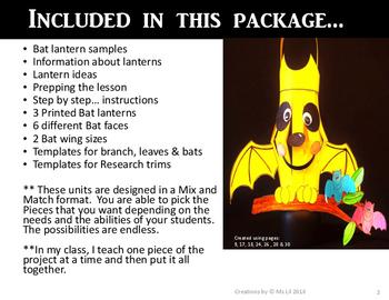 Bat Craft  ::  Bat Activity  ::  Halloween Craft