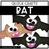 Bat Craft | Halloween Fall Craft | Quick Crafts
