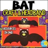 Bat Halloween Craft & Hat