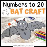 Bat Craft Representing Numbers 1-20
