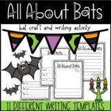 Bat Craft and Bat Writing Activity