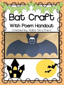 Bat Craft for Halloween